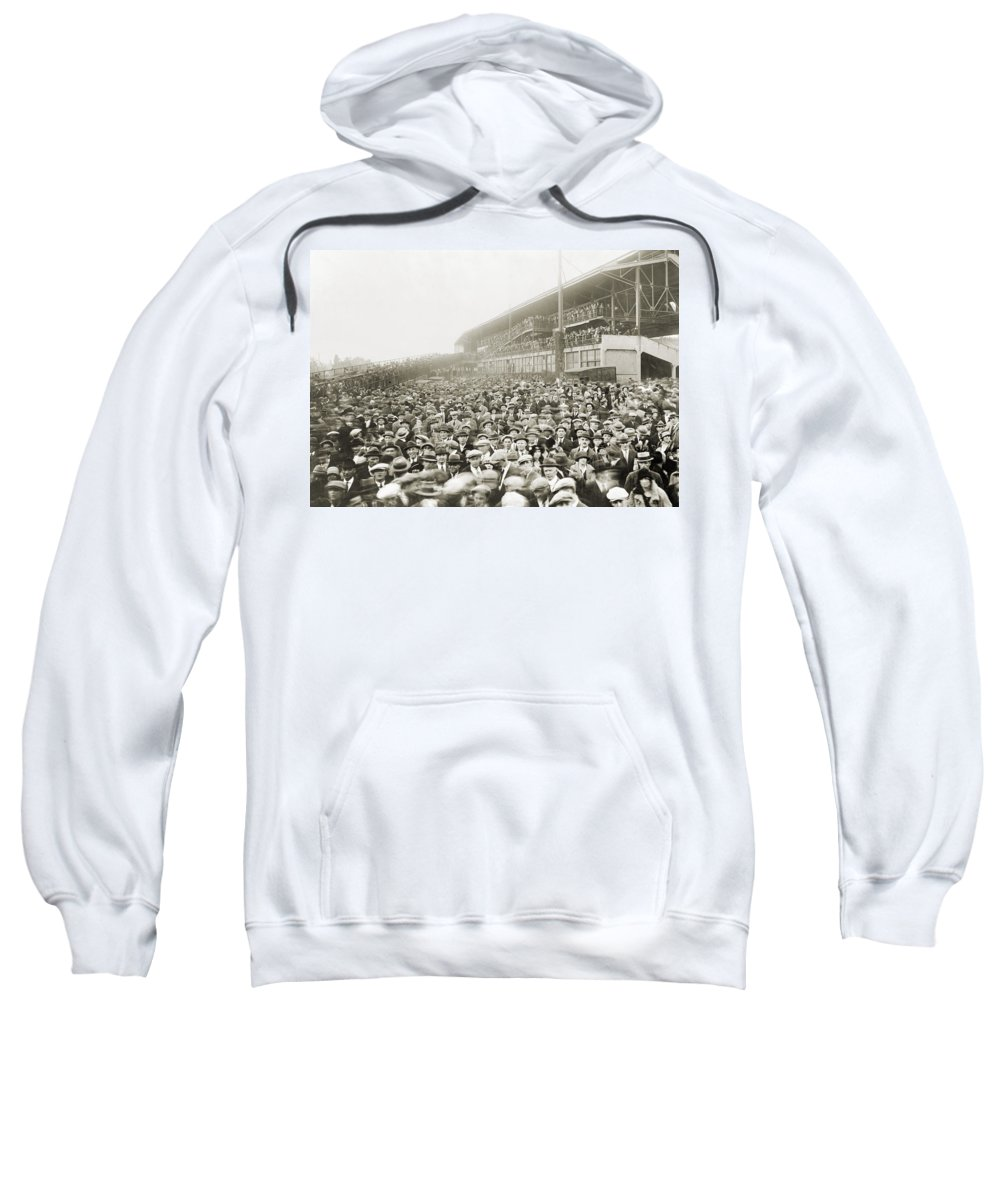 1924 Sweatshirt featuring the photograph World Series, 1924 by Granger