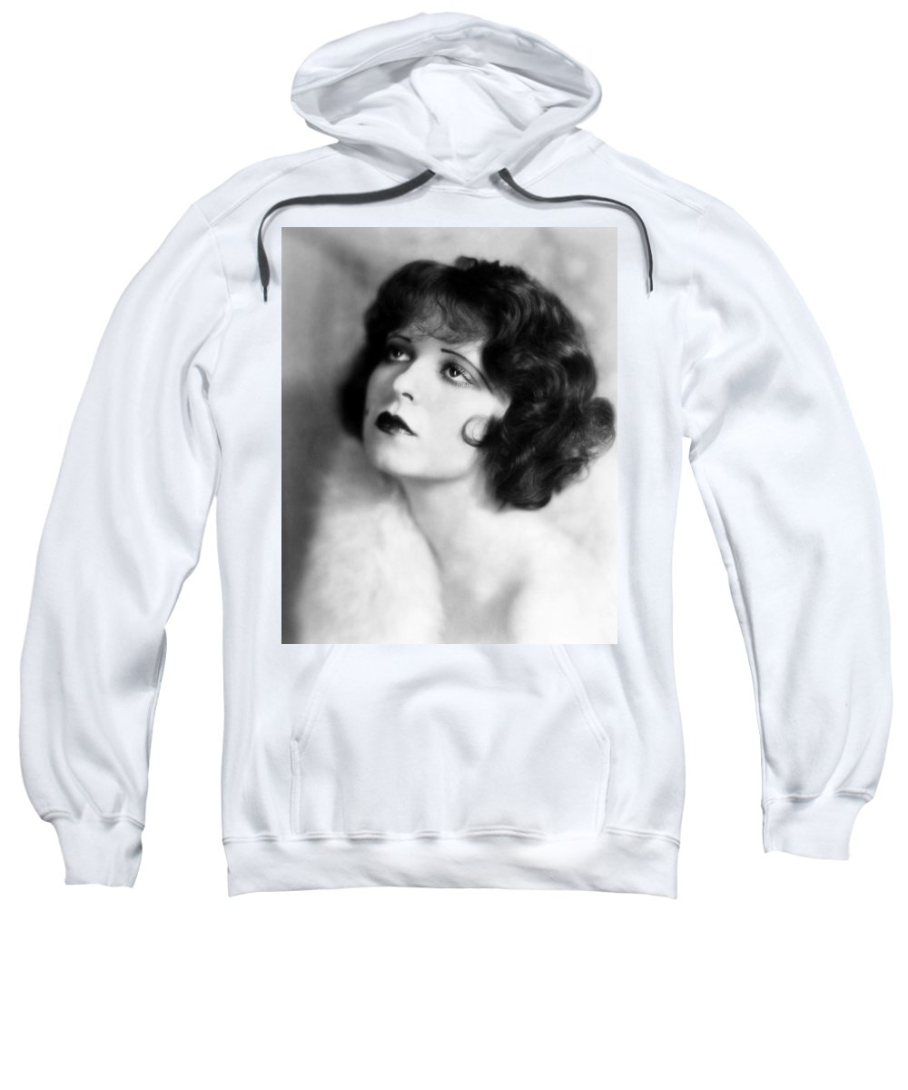 1930s Sweatshirt featuring the photograph Clara Bow (1905-1965) by Granger