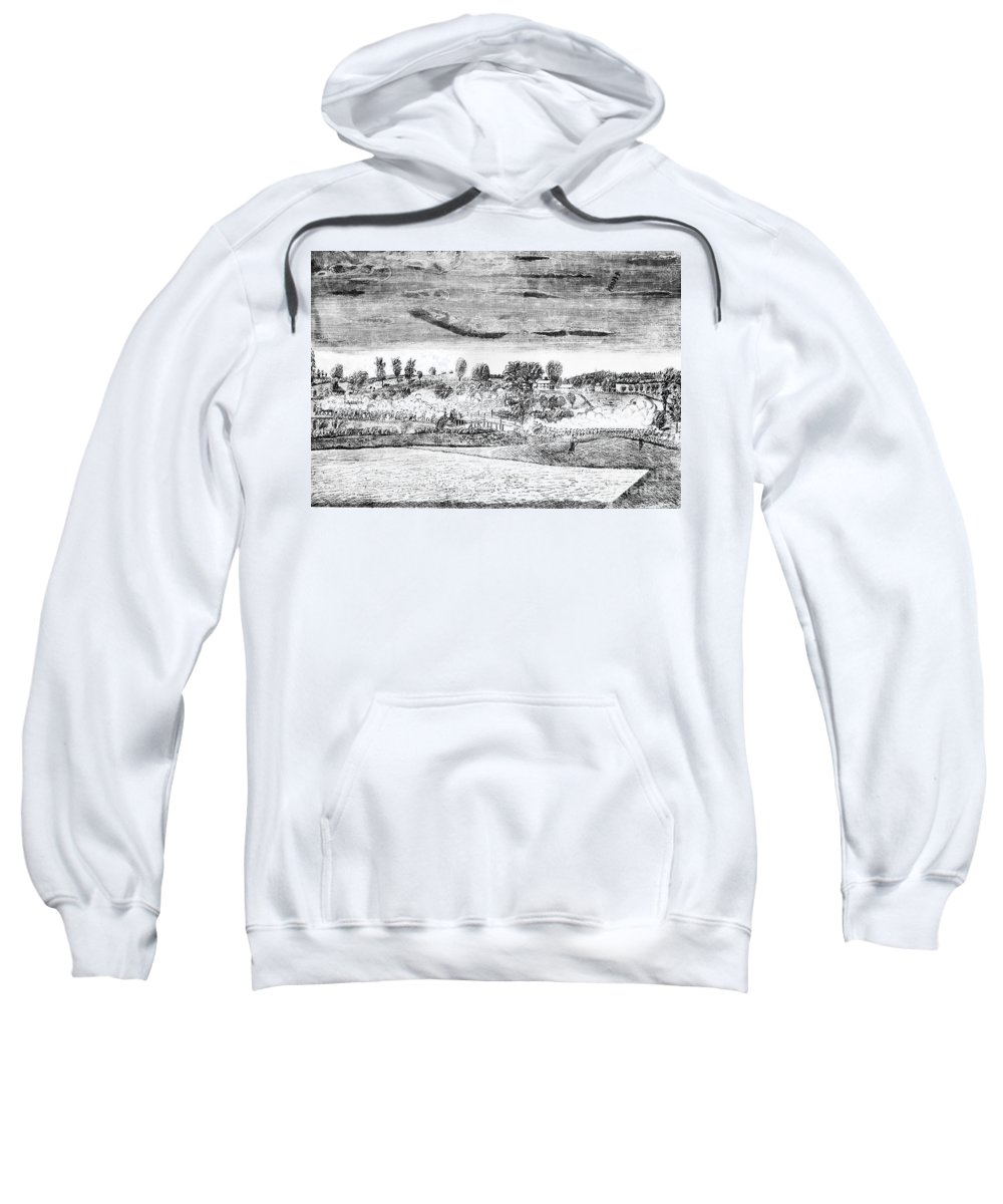 1775 Sweatshirt featuring the photograph Battle Of Concord, 1775 by Granger