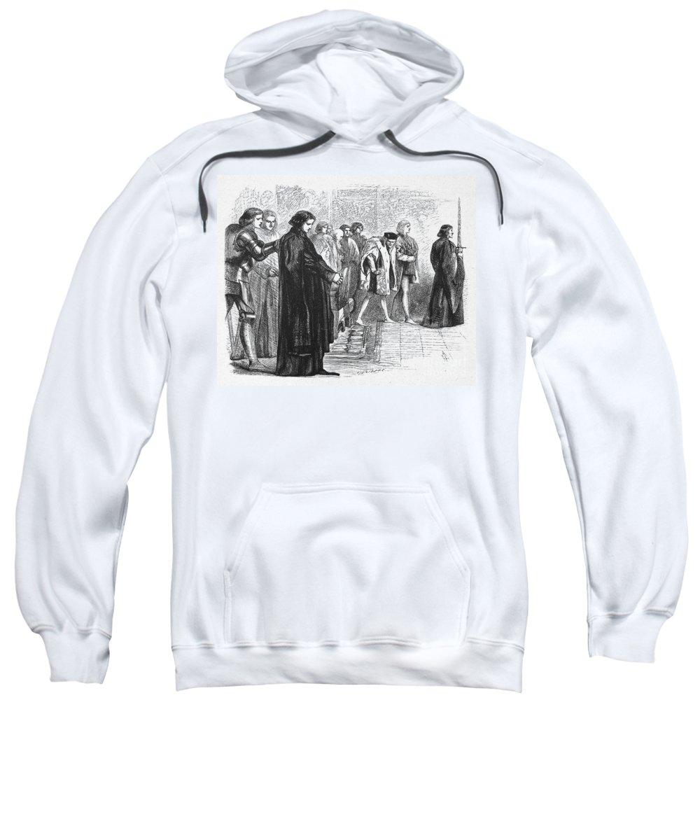16th Century Sweatshirt featuring the photograph Shakespeare: Richard IIi by Granger