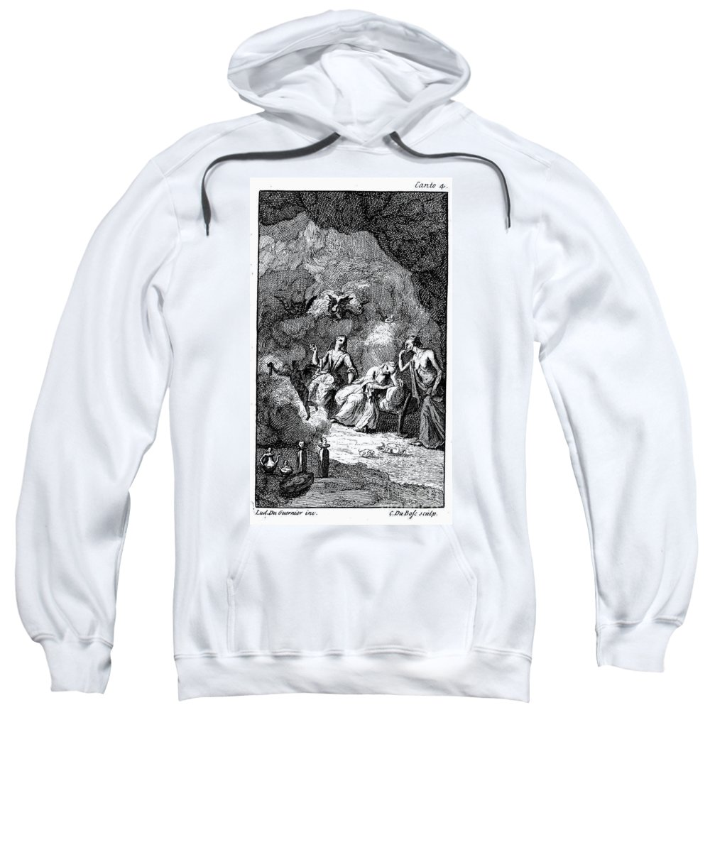 1714 Sweatshirt featuring the photograph Pope: Rape Of The Lock by Granger