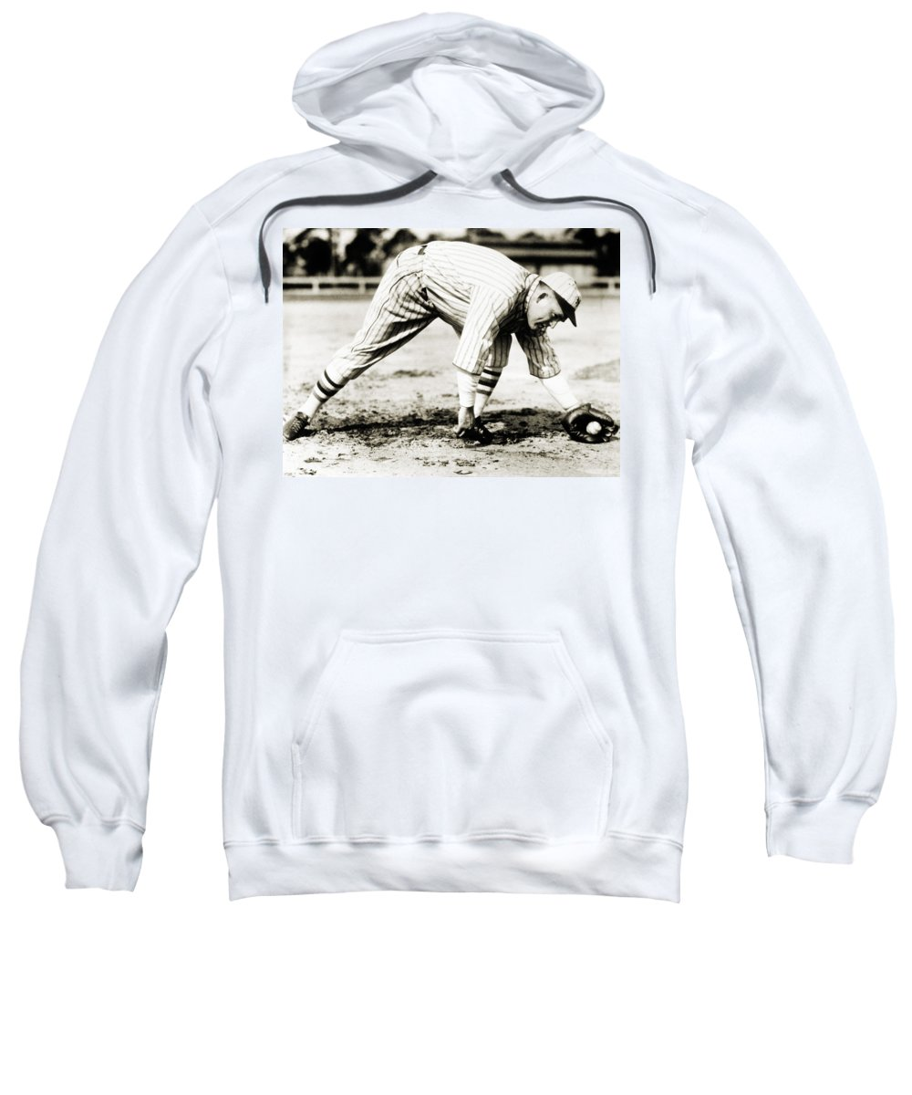 20th Century Sweatshirt featuring the photograph Rogers Hornsby (1896-1963) by Granger