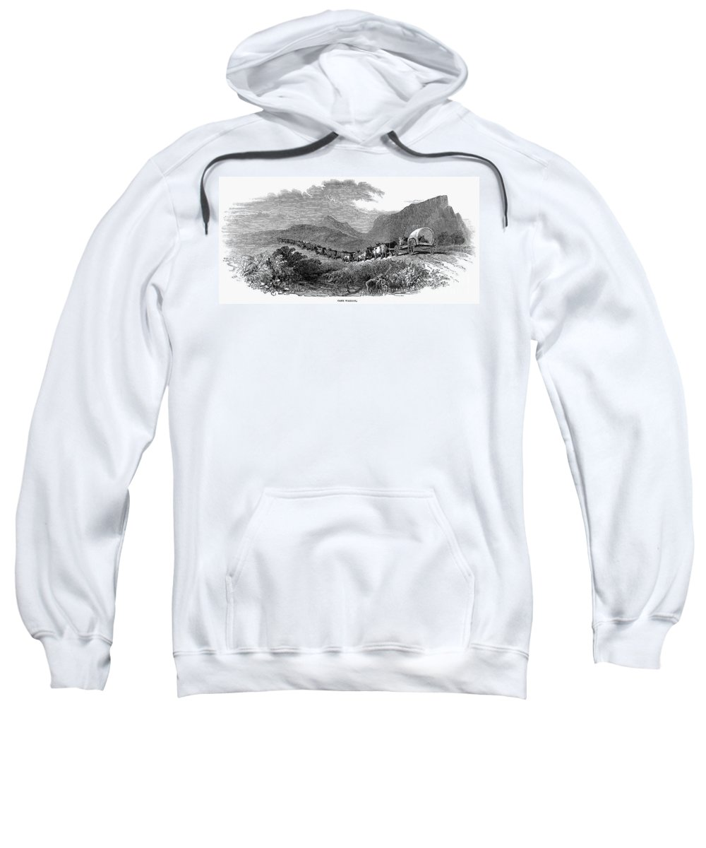 1843 Sweatshirt featuring the photograph South Africa: Great Trek by Granger