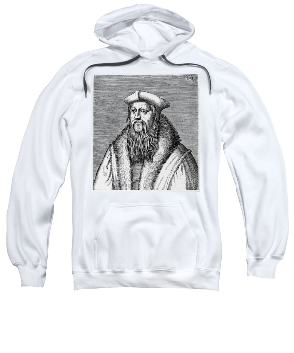 16th Century Sweatshirt featuring the photograph Thomas Cranmer (1489-1556) by Granger