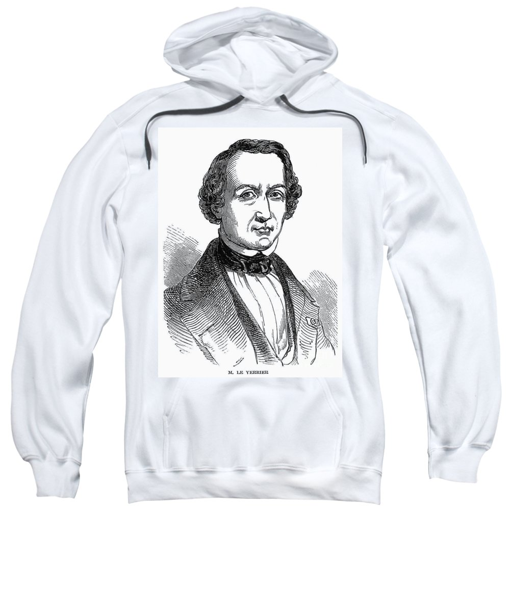 1847 Sweatshirt featuring the photograph Urbain Leverrier by Granger