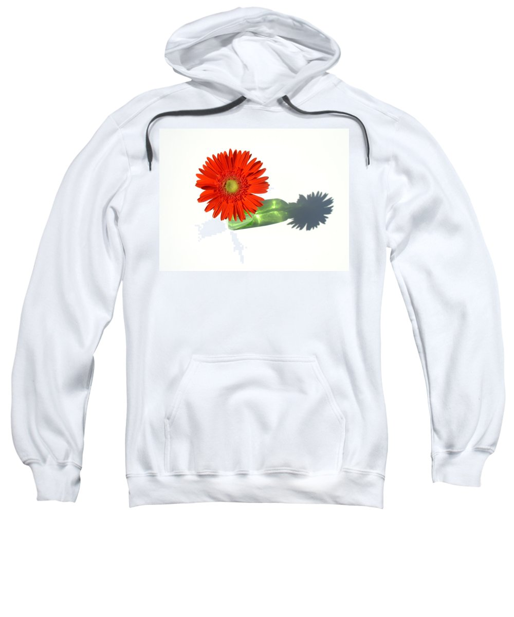 Gerbera Photographs Sweatshirt featuring the photograph 2002a1 by Kimberlie Gerner
