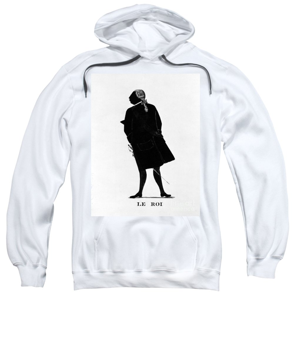 1781 Sweatshirt featuring the photograph Louis Xvi (1754-1793) by Granger