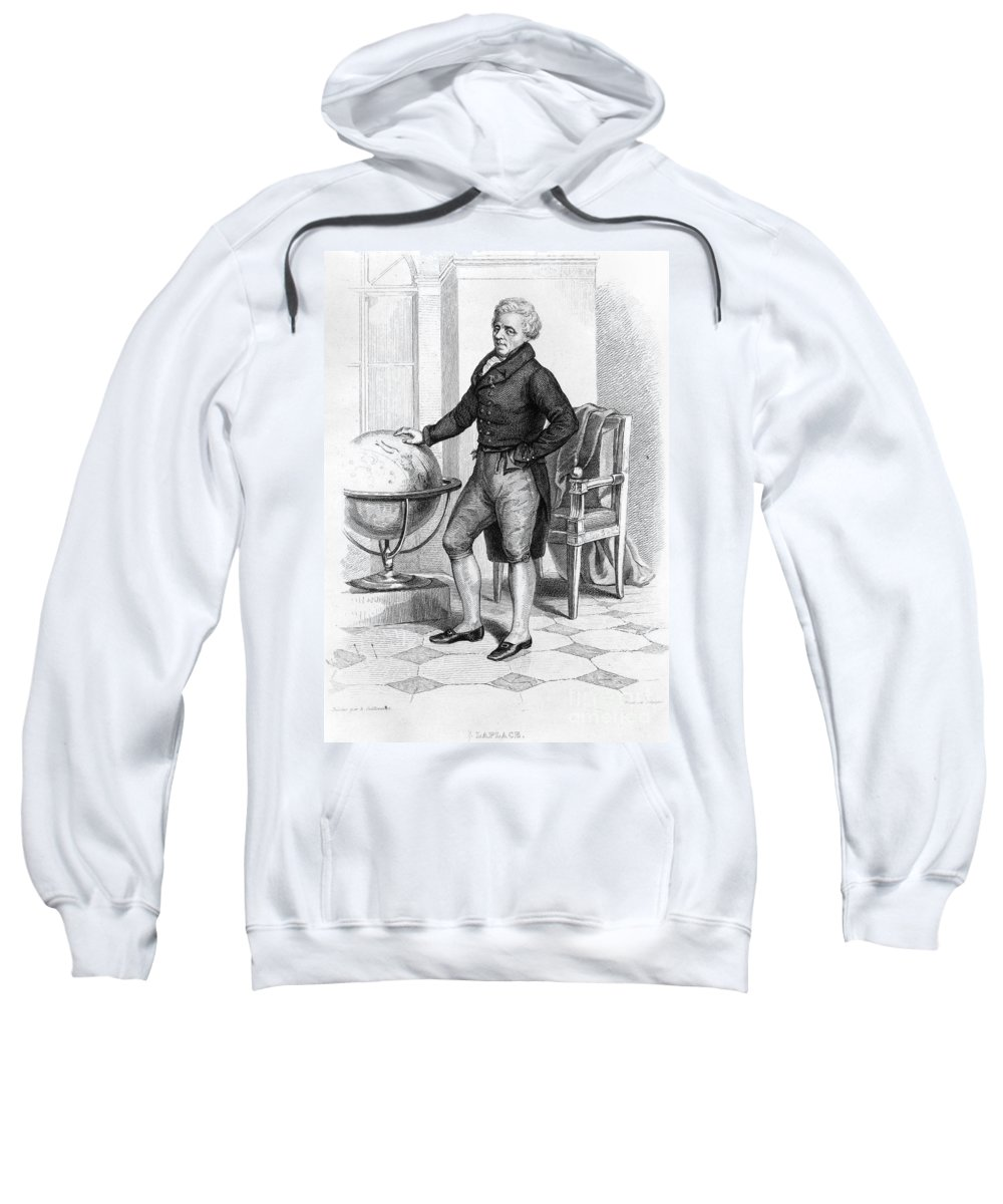 18th Century Sweatshirt featuring the photograph Pierre Laplace (1749-1827) by Granger
