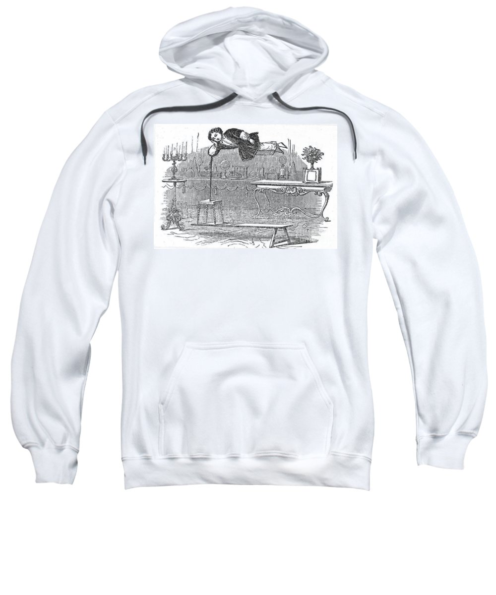 19th Century Sweatshirt featuring the photograph Robert Houdin (1805-1871) by Granger