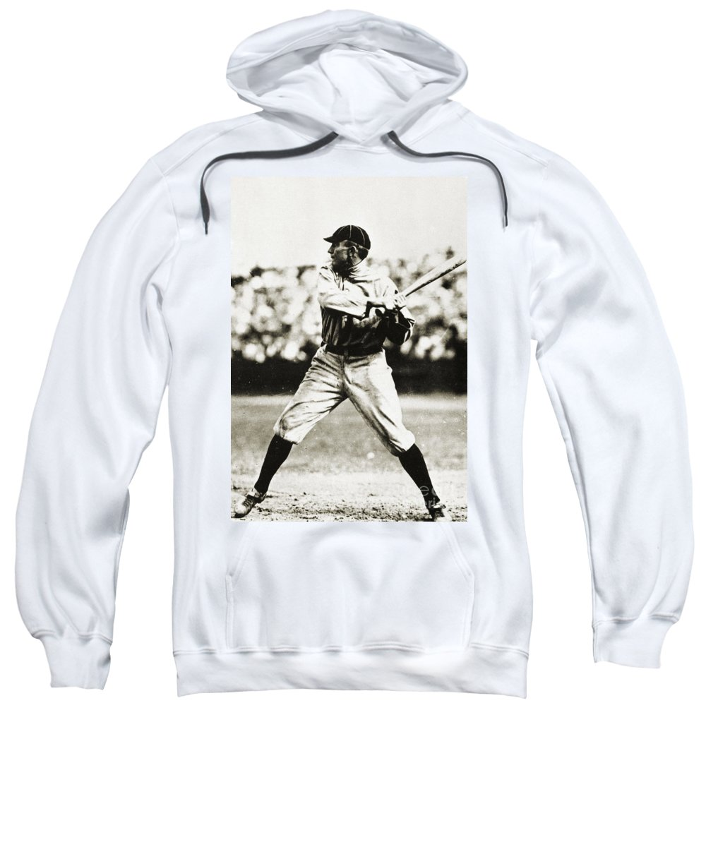 20th Century Sweatshirt featuring the photograph Ty Cobb (1886-1961) by Granger
