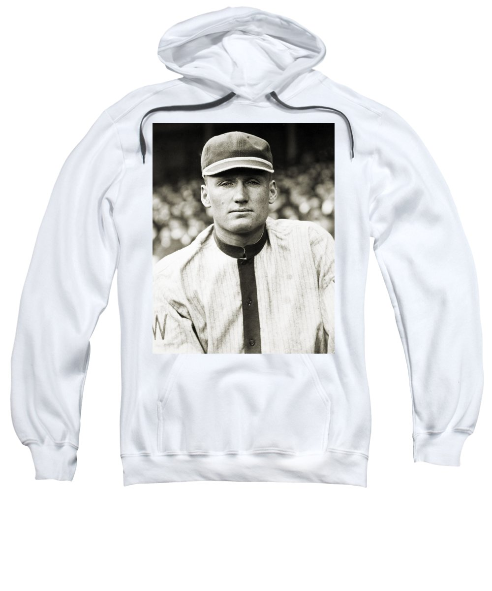 20th Century Sweatshirt featuring the photograph Walter Perry Johnson by Granger