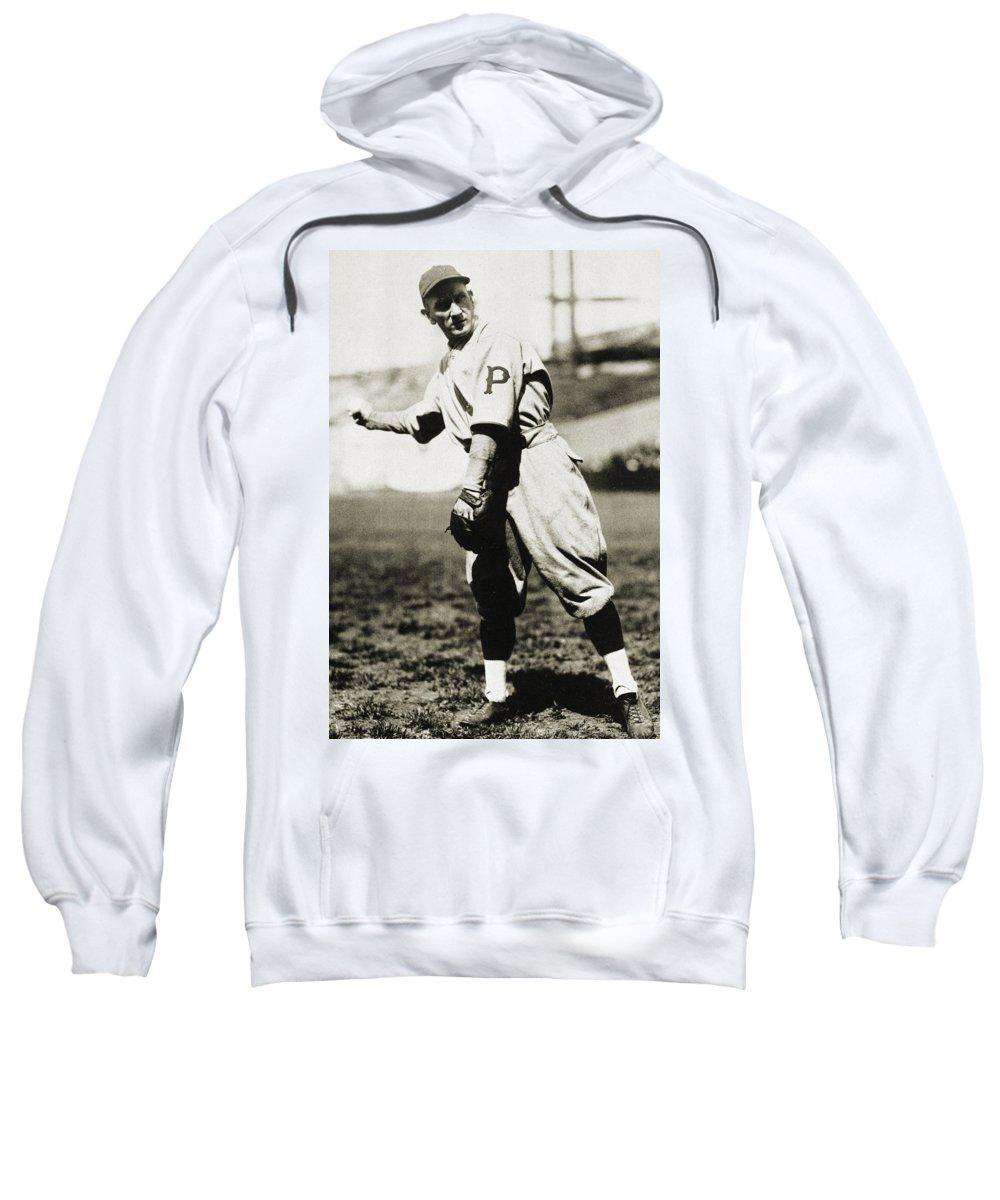 1920s Sweatshirt featuring the photograph Walter Rabbit Maranville by Granger