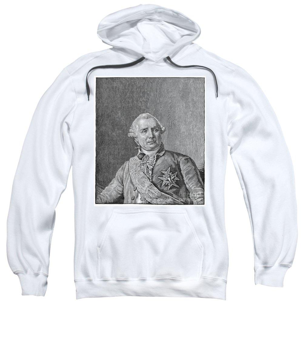 18th Century Sweatshirt featuring the photograph Charles De Vergennes by Granger