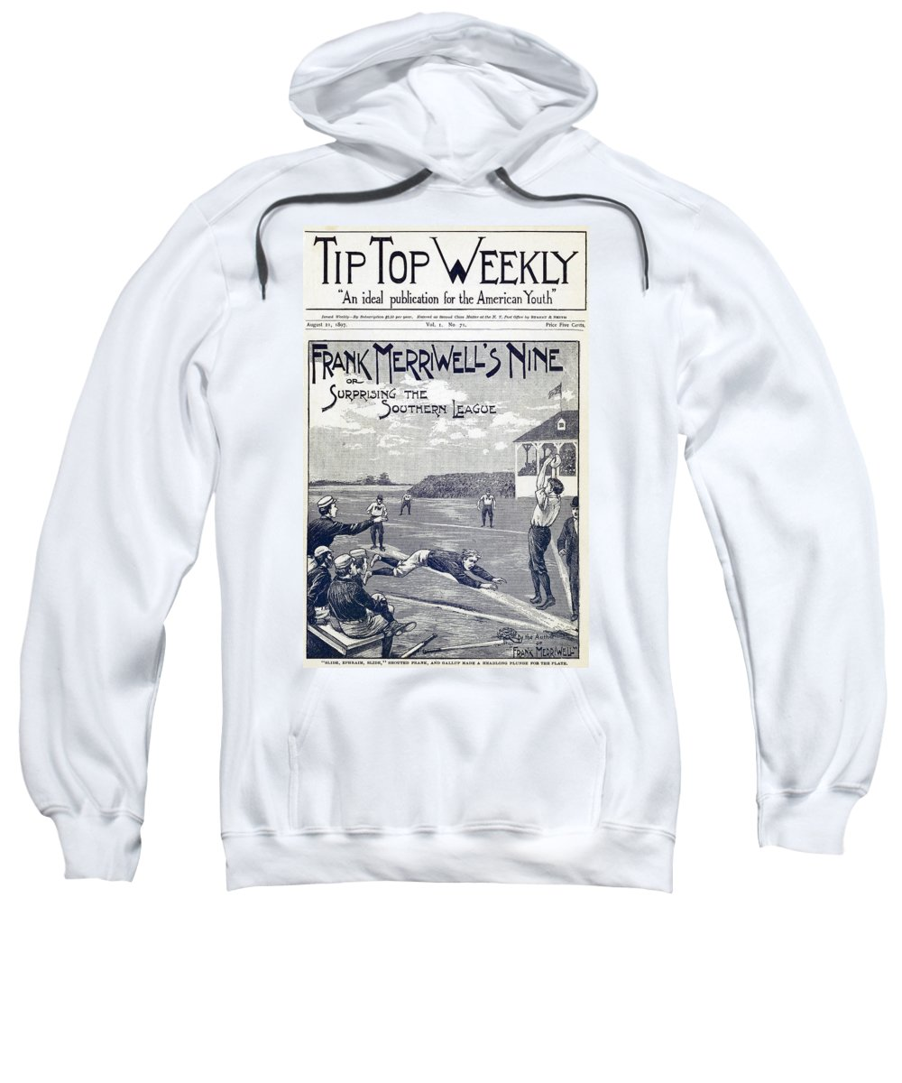 1897 Sweatshirt featuring the photograph Dime Novel, 1897 by Granger