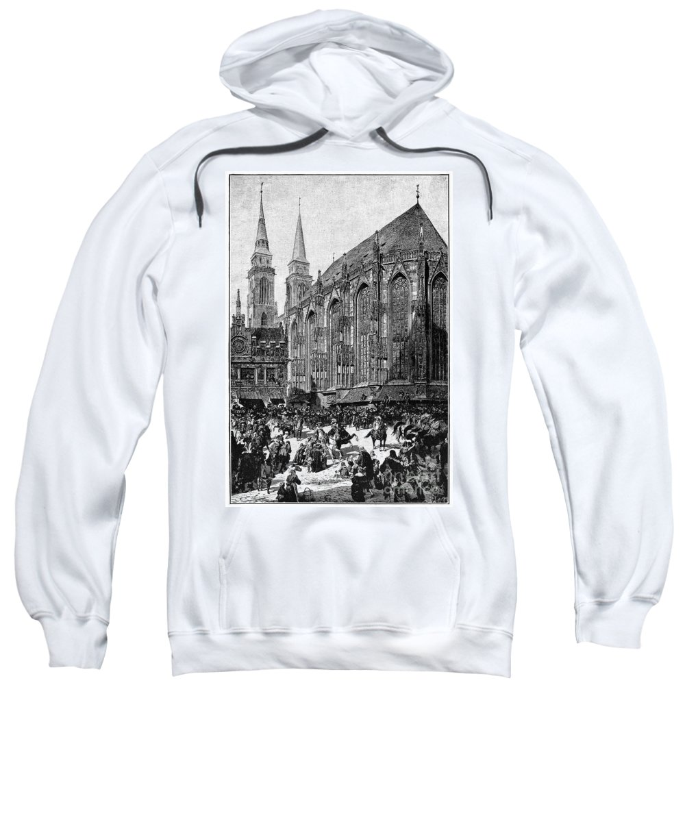 1700s Sweatshirt featuring the photograph Gustavus II (1594-1632) by Granger