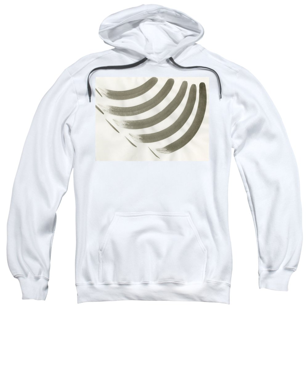 Webbart-134 Sweatshirt featuring the painting Untitled by Taylor Webb