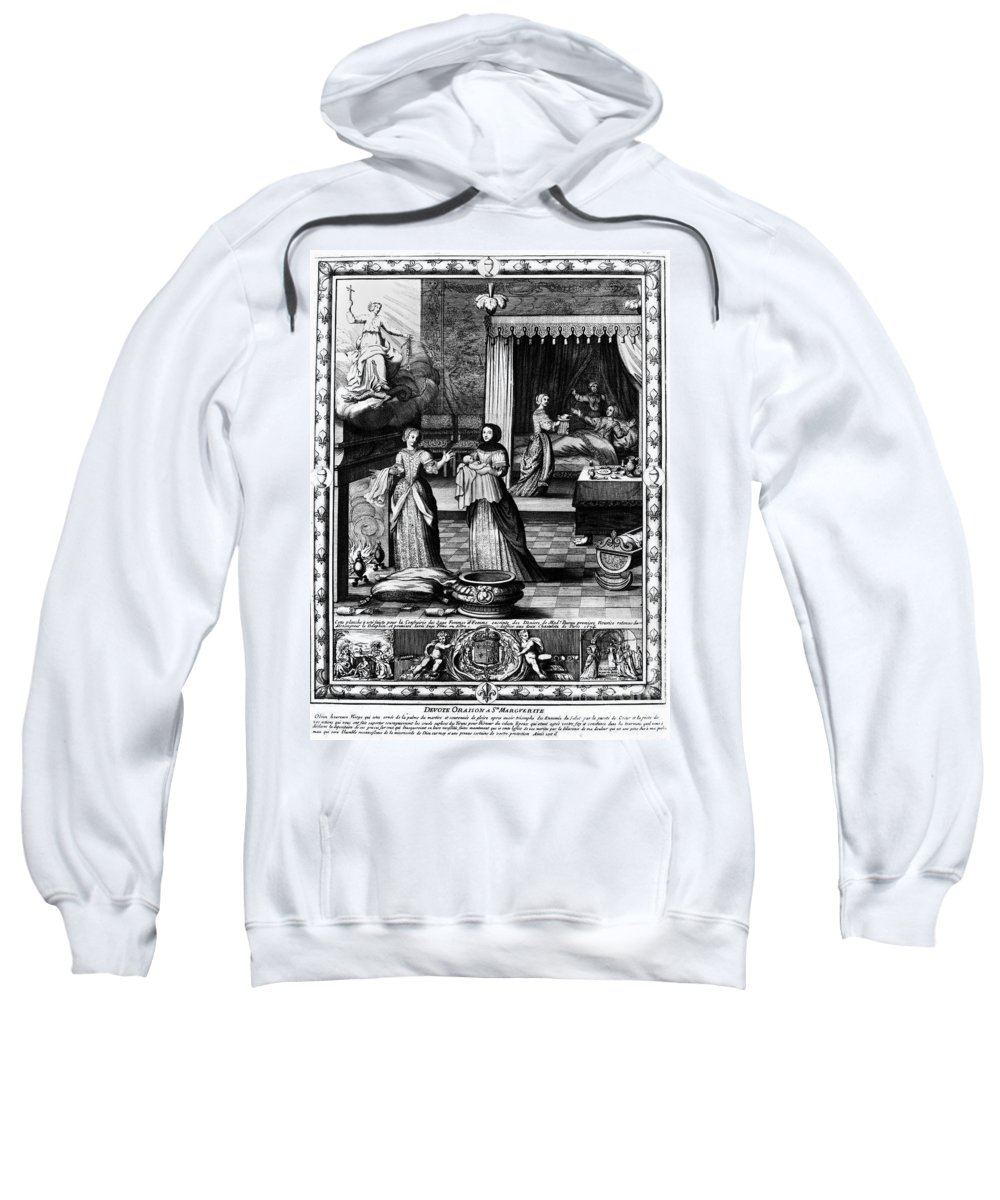 1674 Sweatshirt featuring the photograph Louis, Dauphin Of France by Granger