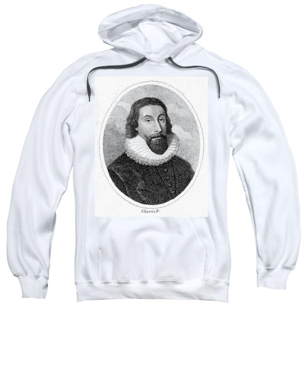 17th Century Sweatshirt featuring the photograph John Winthrop (1588-1649) by Granger
