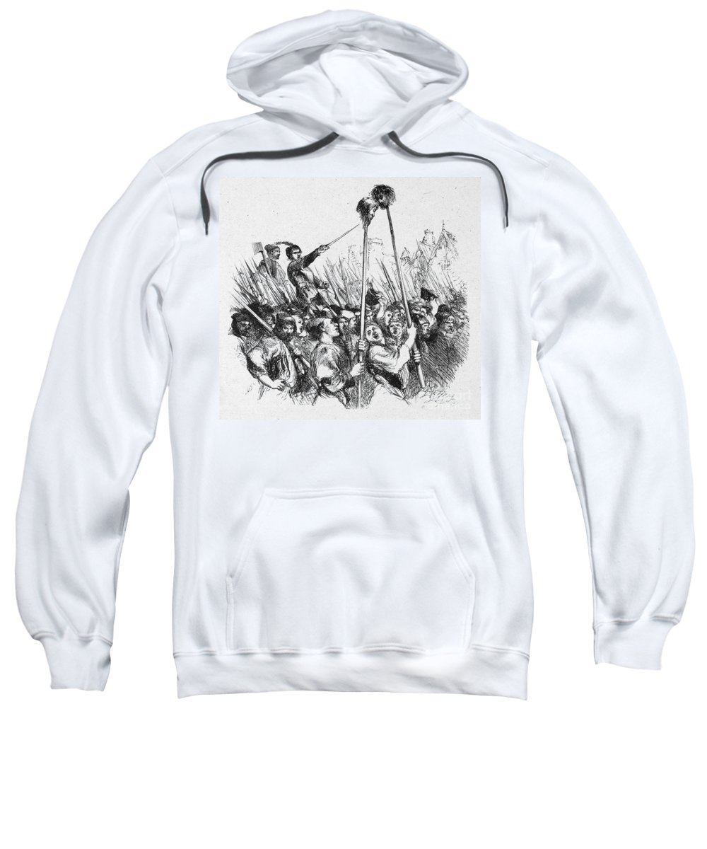 16th Century Sweatshirt featuring the photograph Shakespeare: Henry Vi by Granger