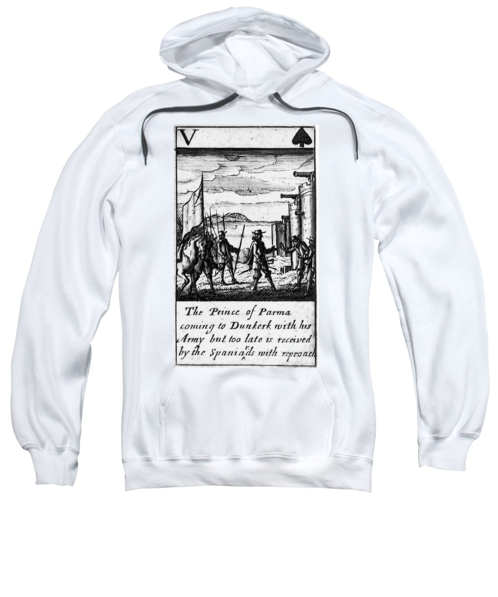 1588 Sweatshirt featuring the photograph Spanish Armada, 1588 by Granger