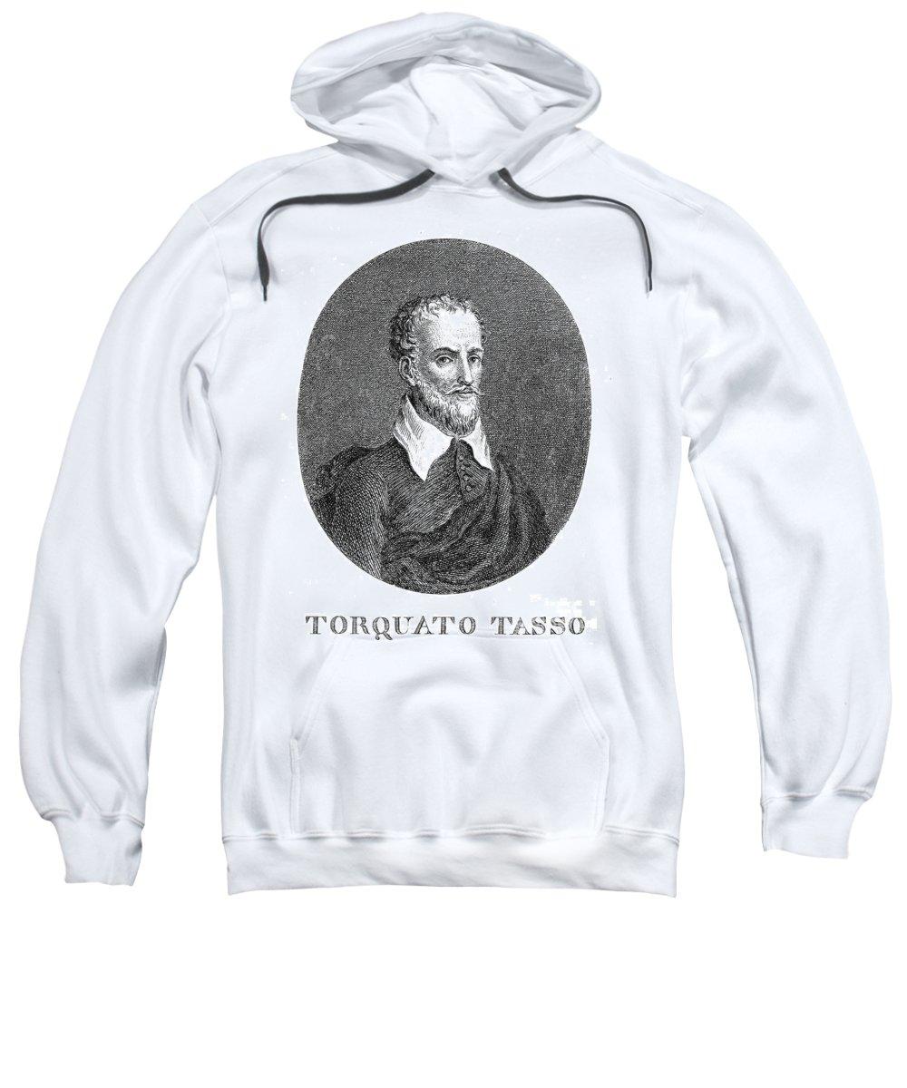 16th Century Sweatshirt featuring the photograph Torquato Tasso (1544-1595) by Granger