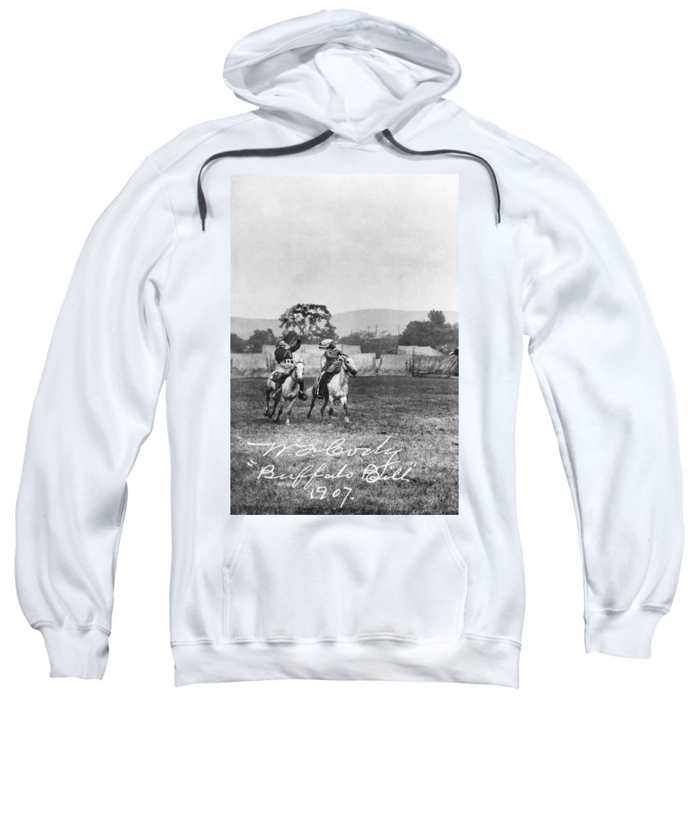 1907 Sweatshirt featuring the photograph William F. Cody (1846-1917) by Granger