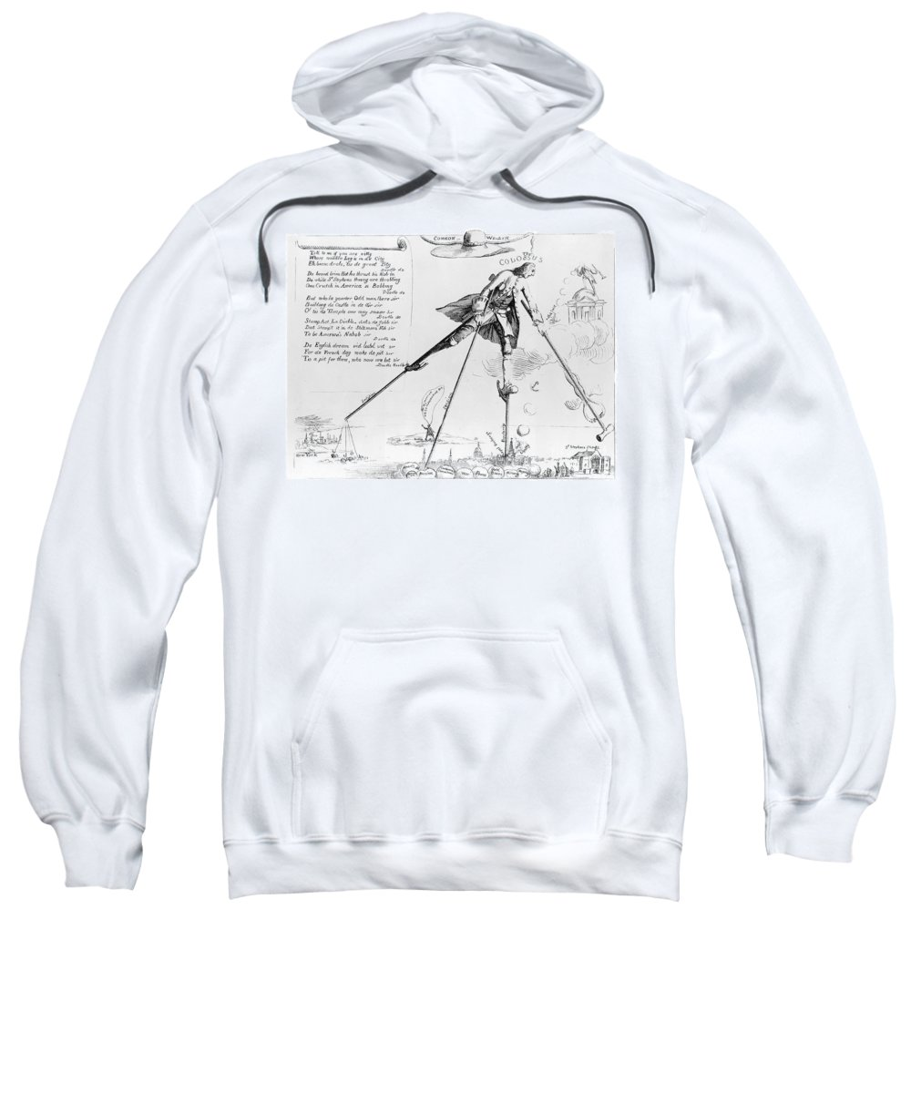 1766 Sweatshirt featuring the photograph William Pitt (1708-1778) by Granger