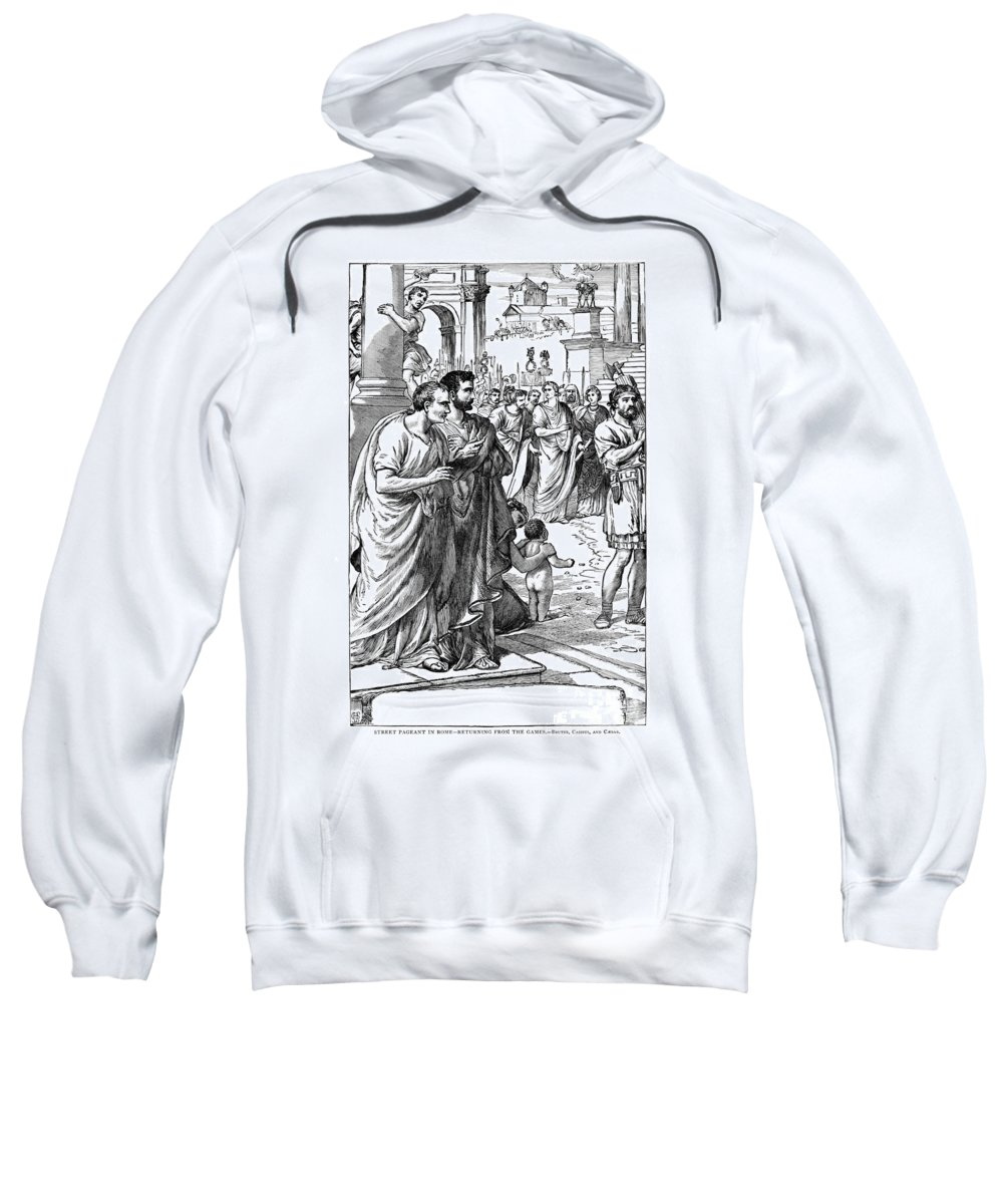 1st Century B.c Sweatshirt featuring the photograph Julius Caesar (100 B.c-44 B.c.) by Granger