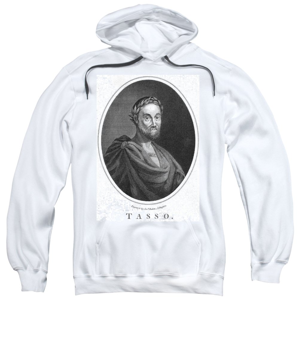 16th Century Sweatshirt featuring the photograph Torquato Tasso (1544-1595) by Granger