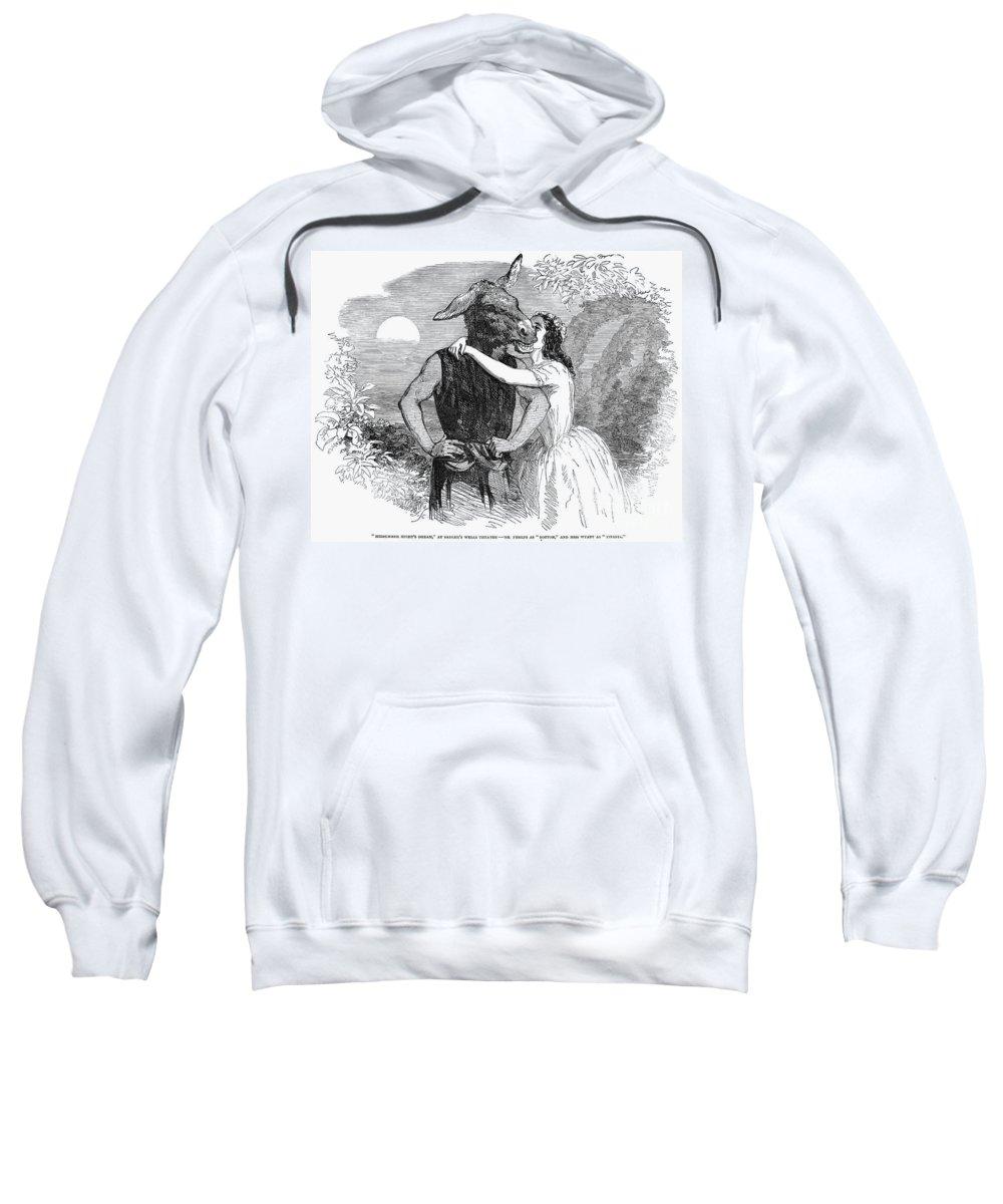 1853 Sweatshirt featuring the photograph A Midsummer Nights Dream by Granger
