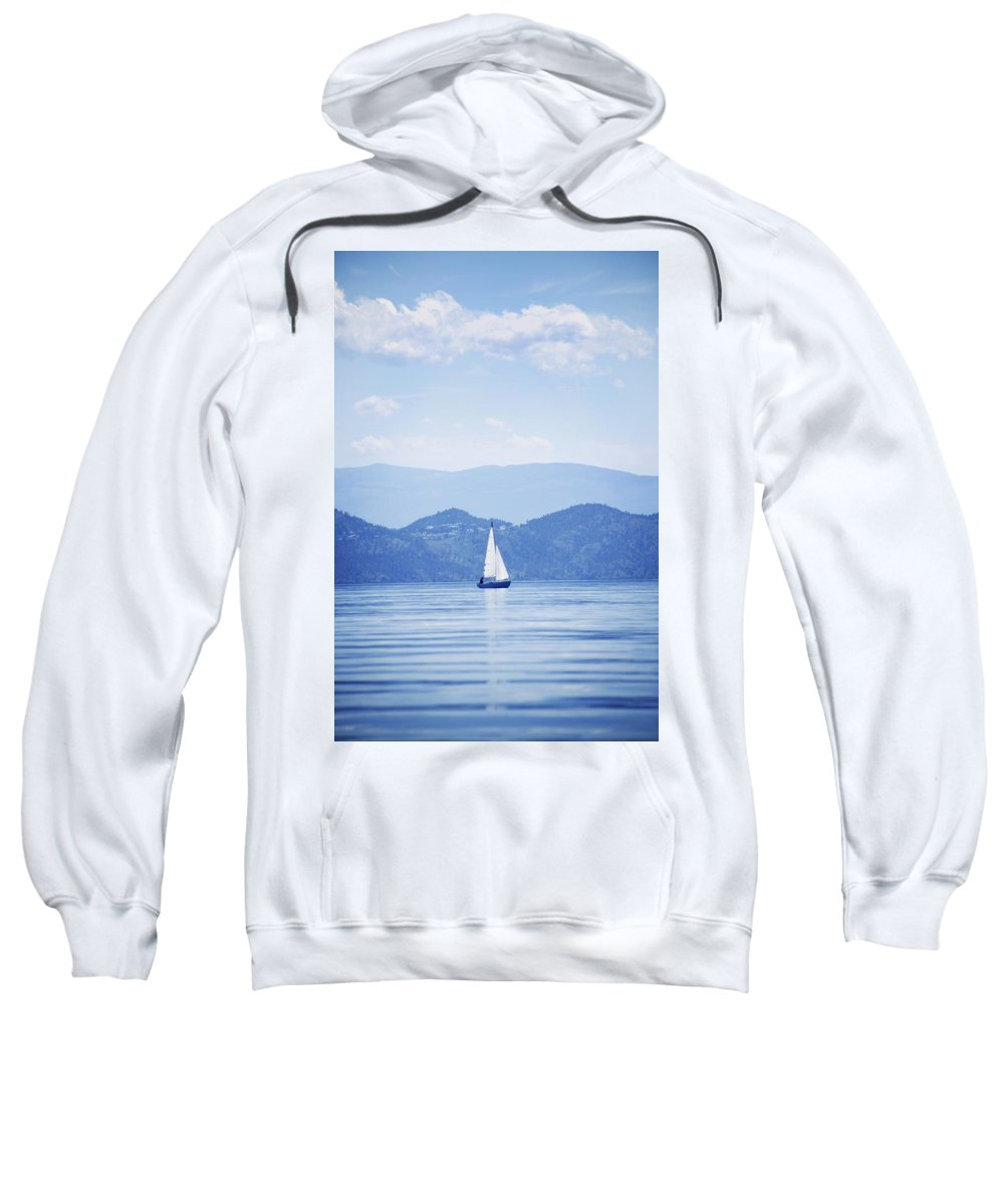 Transportation Sweatshirt featuring the photograph A Sailboat by Kelly Redinger