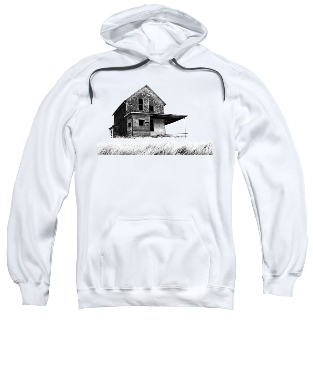 House Sweatshirt featuring the photograph Abandoned And Alone 2 by Bob Christopher