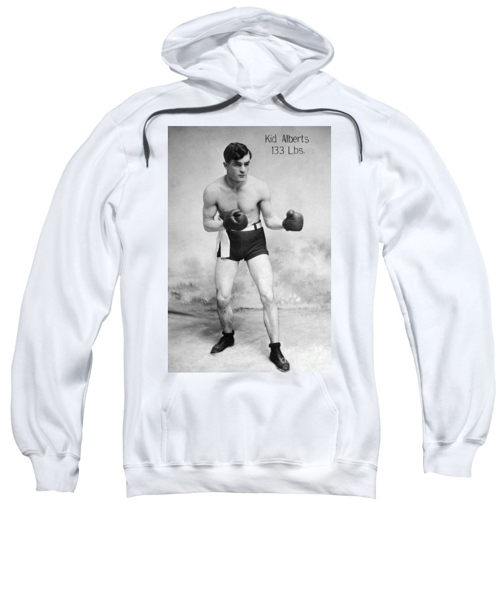 1910s Sweatshirt featuring the photograph American Boxer, C1912 by Granger