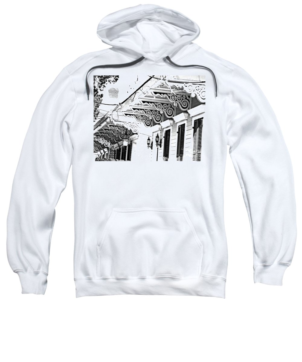 Eaves Sweatshirt featuring the photograph Arabella Brackets by Lizi Beard-Ward