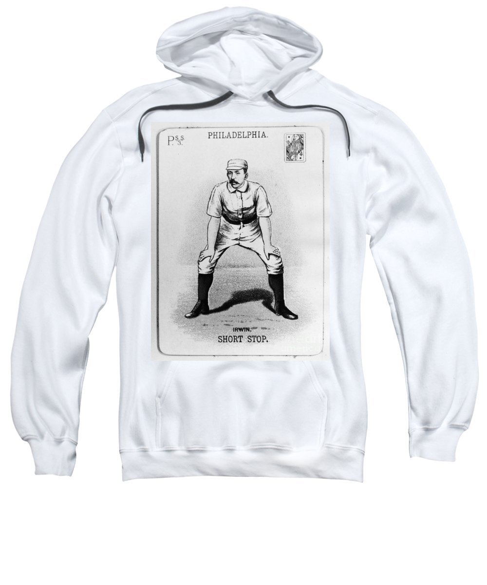 1888 Sweatshirt featuring the photograph Arthur Irwin (1858-1921) by Granger