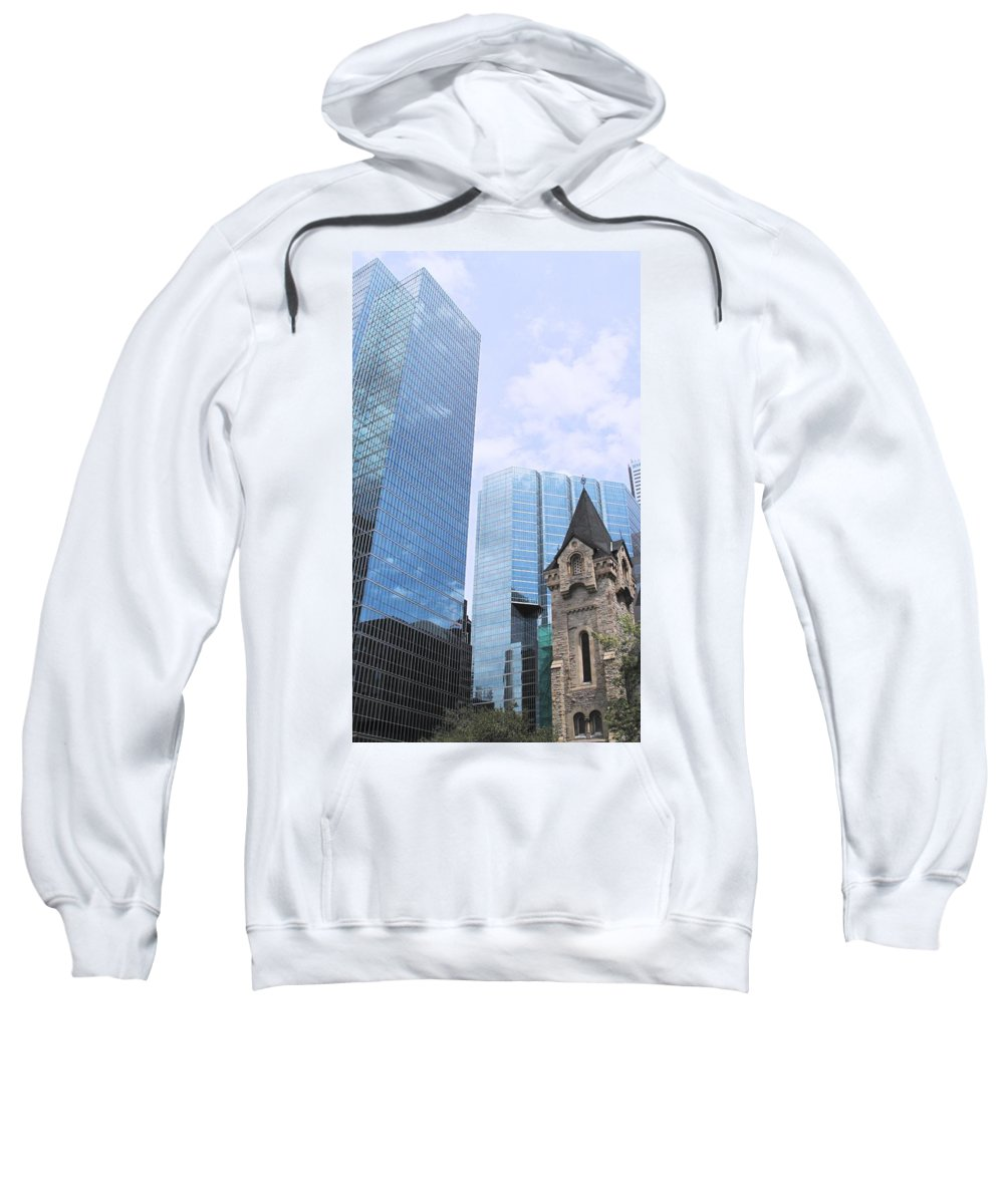 King Sweatshirt featuring the photograph Ascendancy Of Capitalism by Ian MacDonald