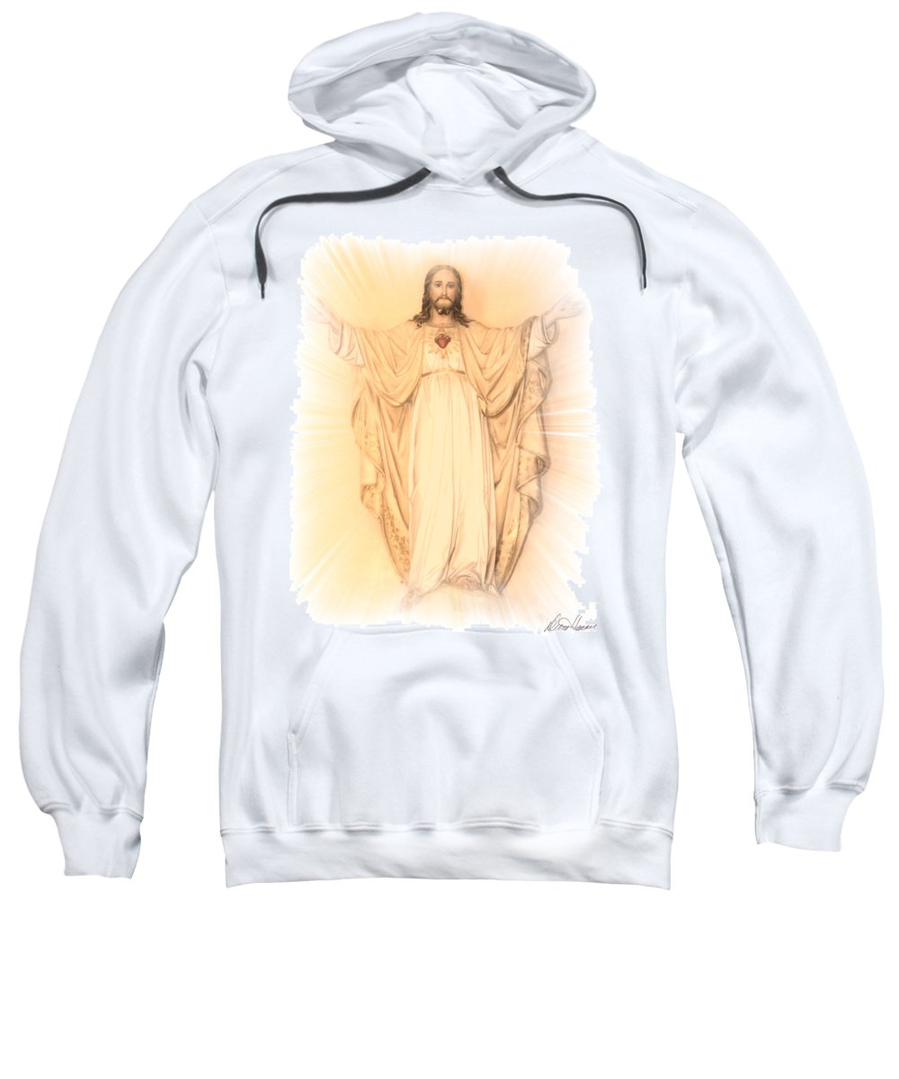 Ascension Sweatshirt featuring the photograph Ascension by Diana Haronis