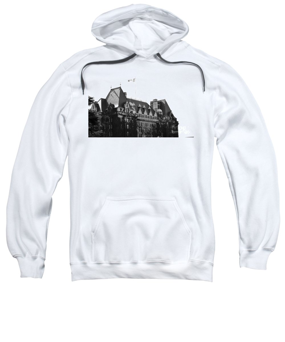 Dragon Boat Races Sweatshirt featuring the photograph Bc Parliament by Traci Cottingham
