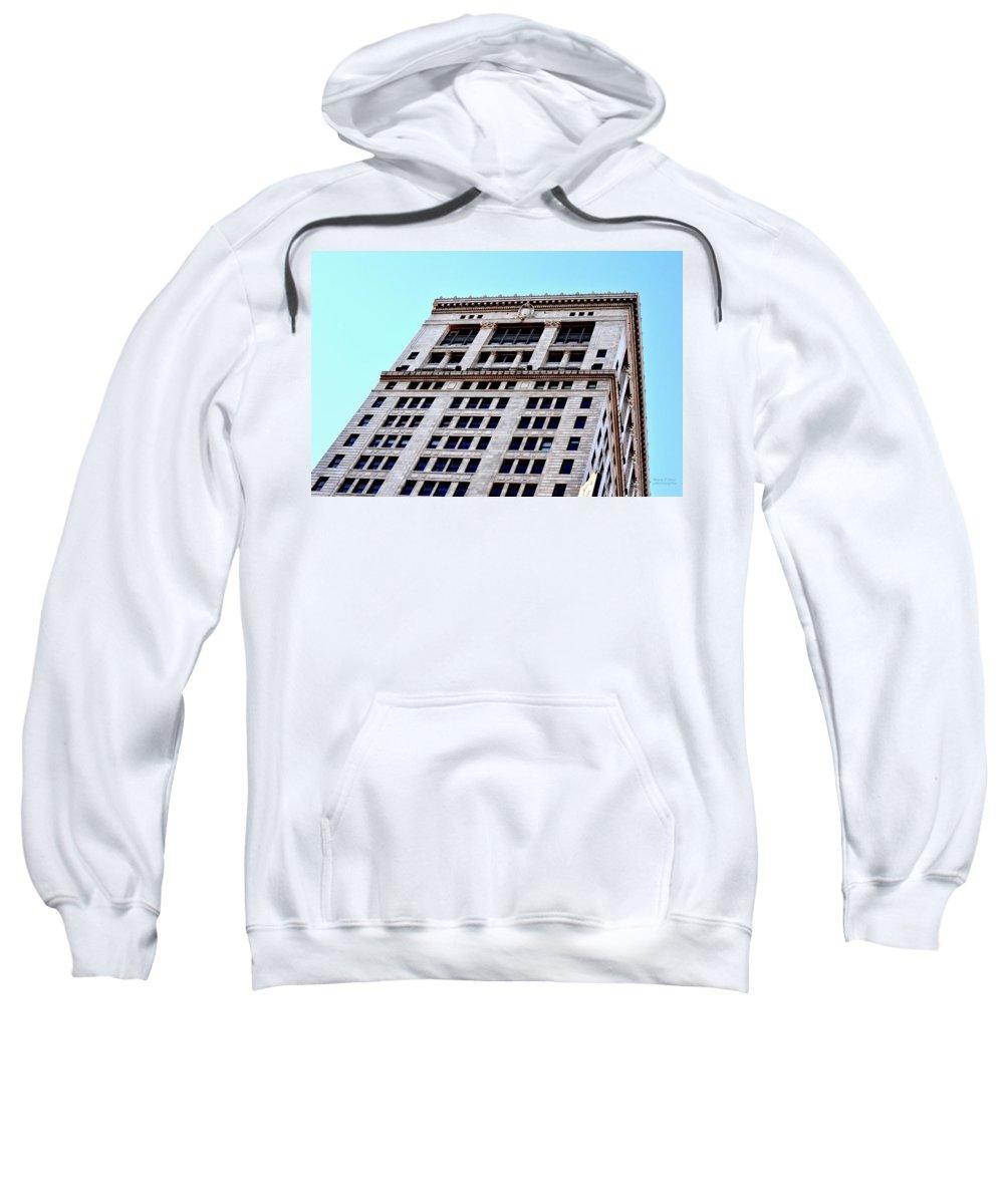 Birmingham Sweatshirt featuring the photograph Bham Architecture by Maria Urso