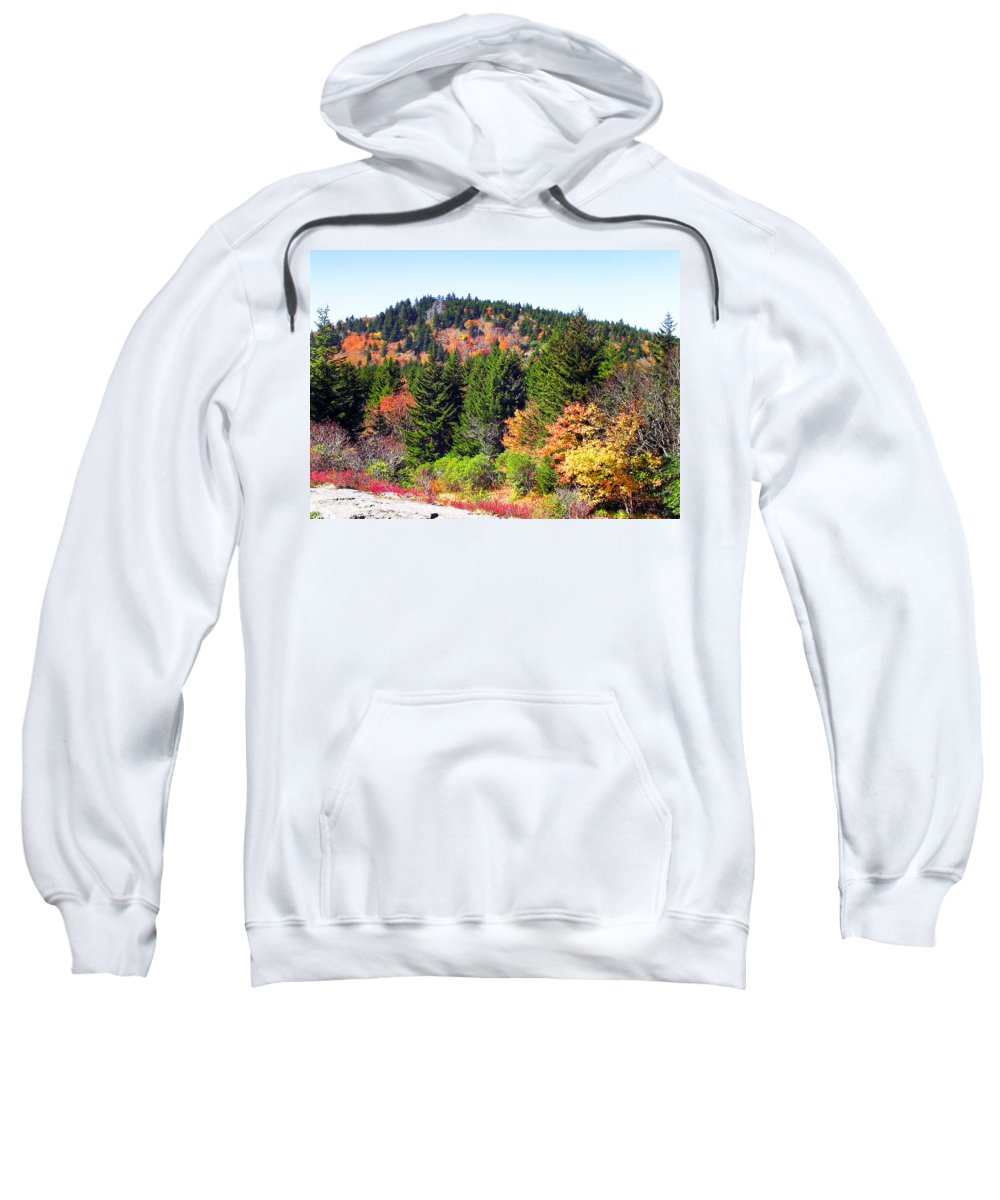 Fall Sweatshirt featuring the photograph Blueridge Parkway View Near Mm 423 by Duane McCullough