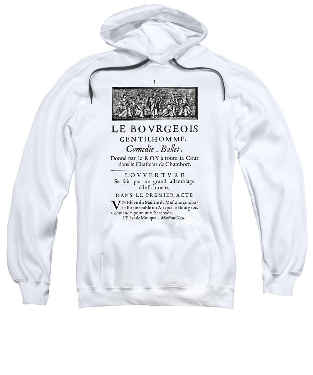1670 Sweatshirt featuring the photograph Bourgeois Gentilhomme by Granger