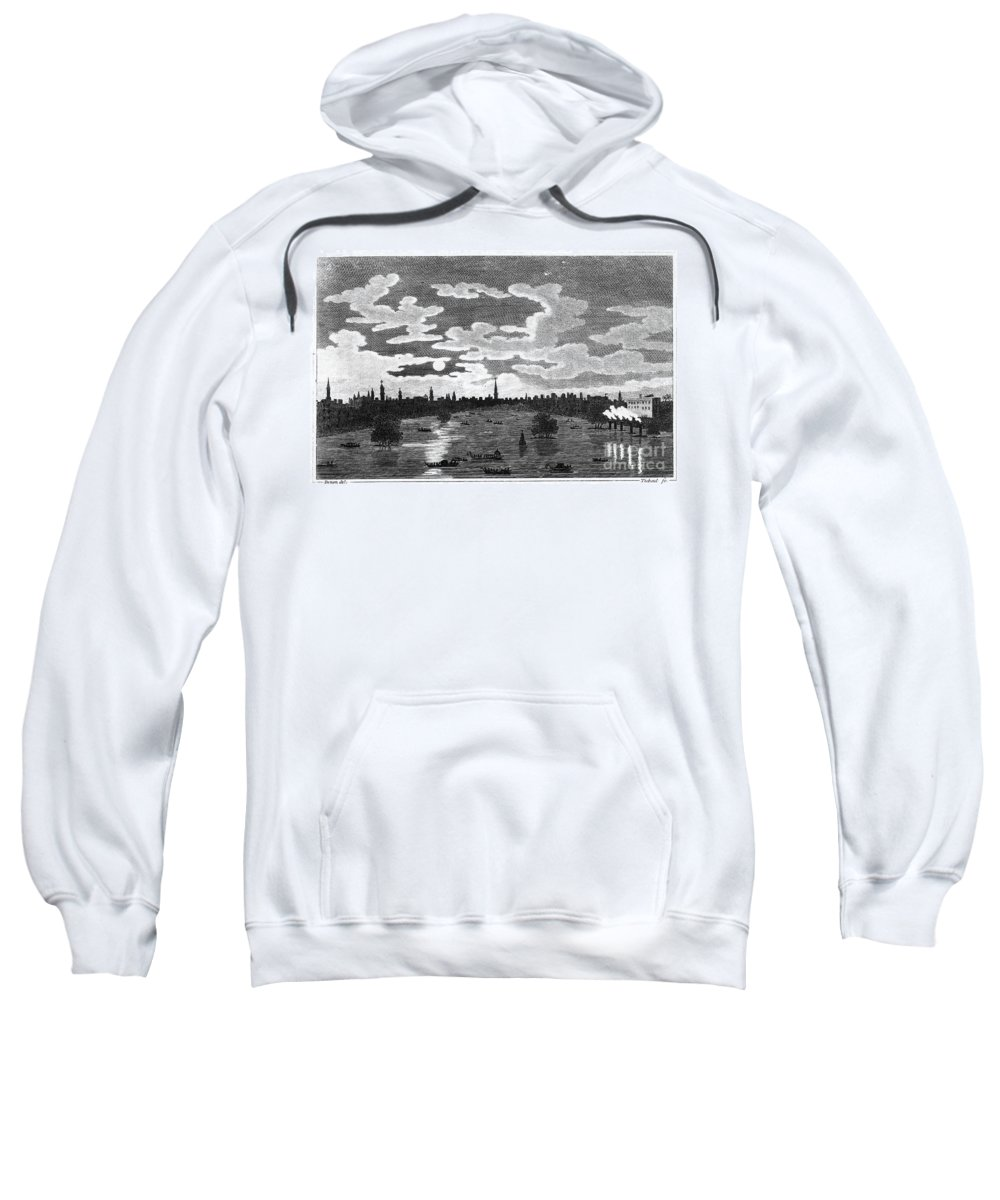 1803 Sweatshirt featuring the photograph Cairo: Azbakiya Square by Granger