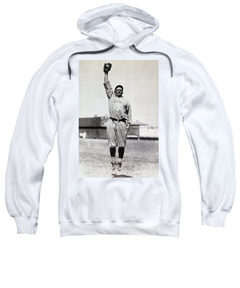 1920s Sweatshirt featuring the photograph Casey Stengel (1891-1975) by Granger