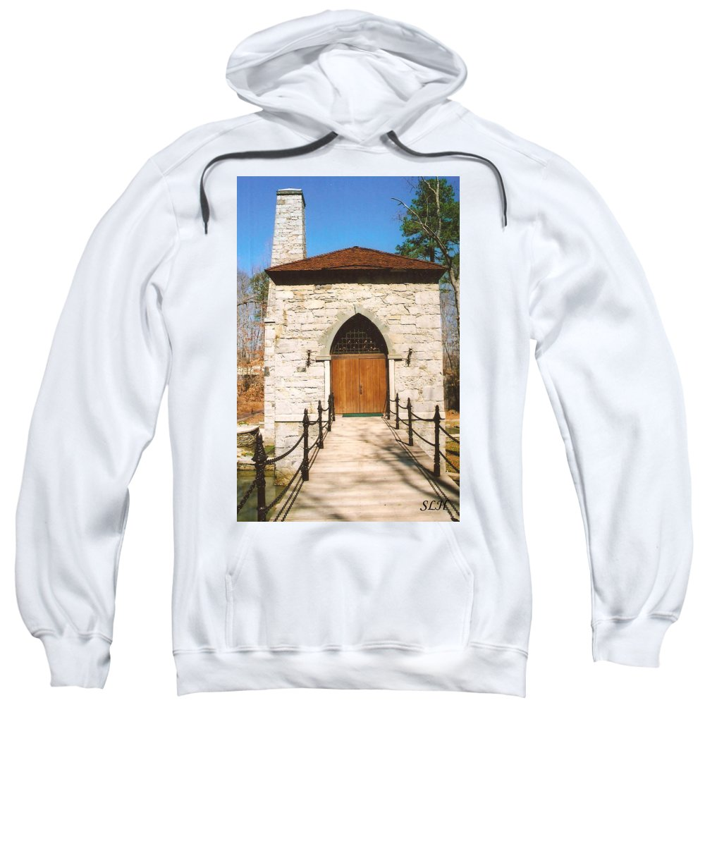 Castle Sweatshirt featuring the photograph Castle Mcculloch by Lee Hartsell