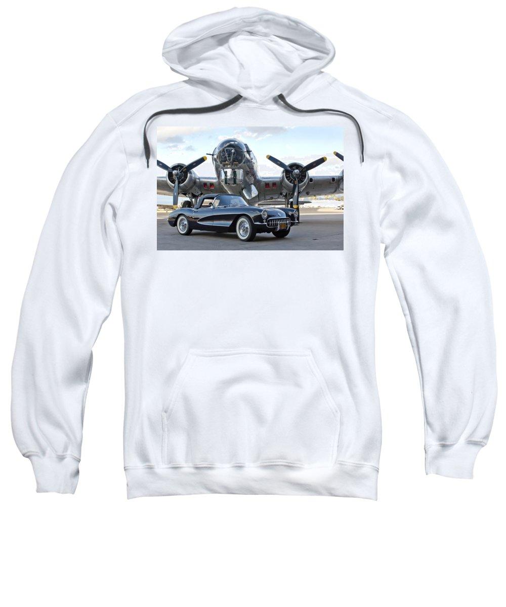 Sweatshirt featuring the photograph Cc 19 by Jill Reger