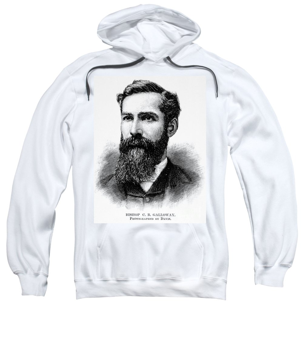 19th Century Sweatshirt featuring the photograph Charles Betts Galloway by Granger