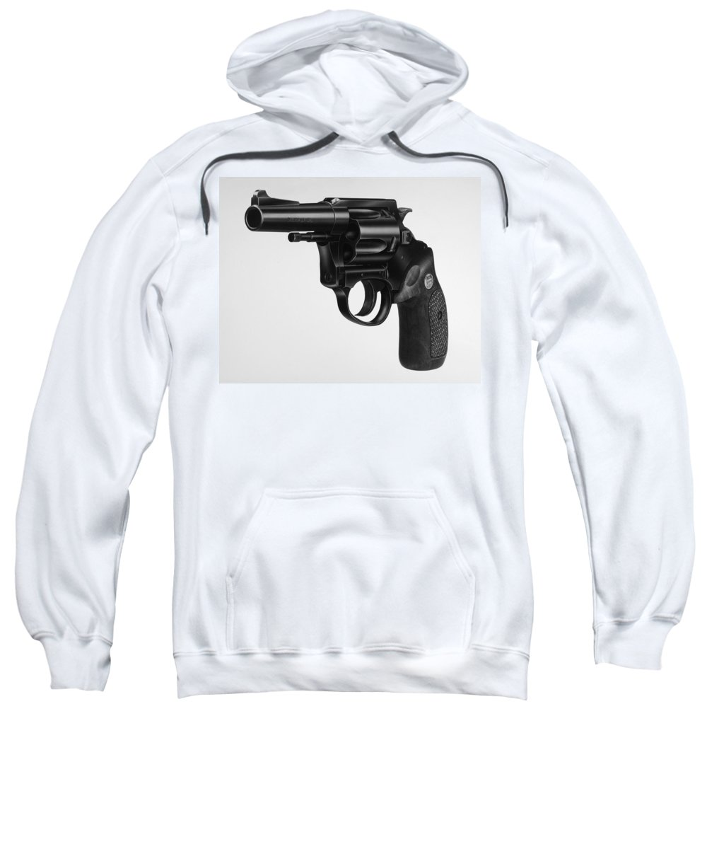 20th Century Sweatshirt featuring the photograph Charter Arms Revolver by Granger