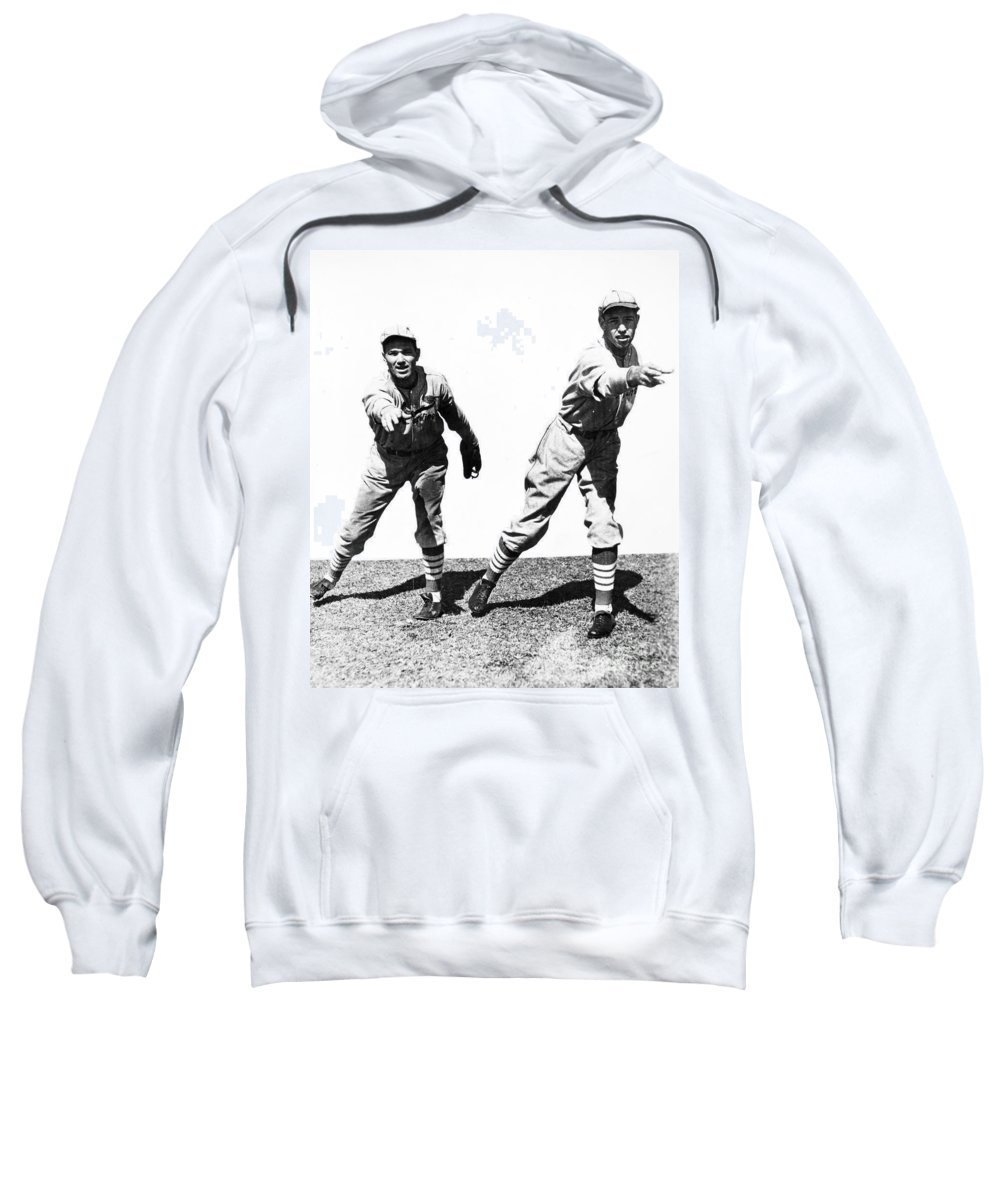 1934 Sweatshirt featuring the photograph Dean Brothers, 1934 by Granger
