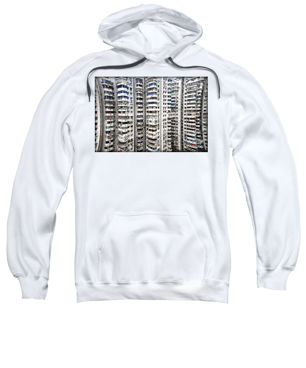 Density Sweatshirt featuring the photograph Density by Valentino Visentini