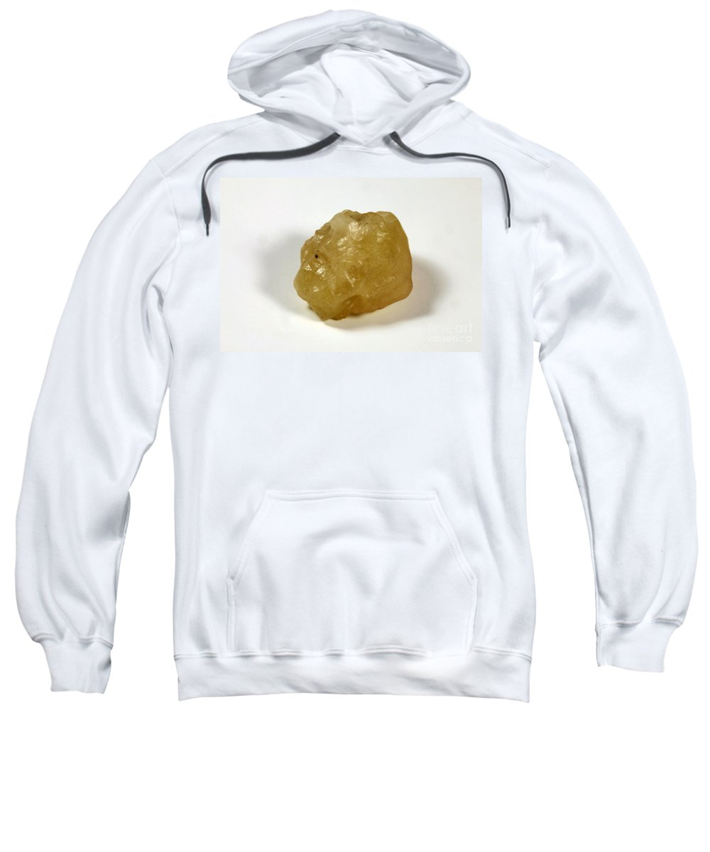 Tektite Sweatshirt featuring the photograph Desert Glass by Ted Kinsman